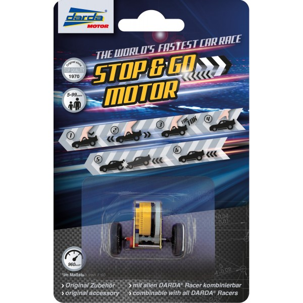 DARDA Stop and Go Motor